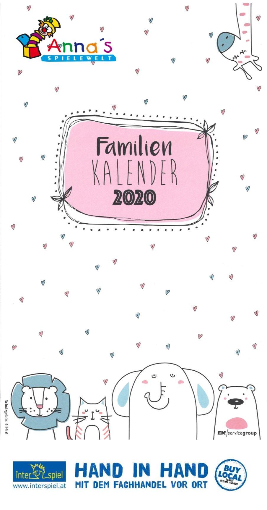 Familien Kalender 2020 Gratis