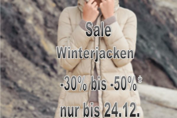 Winter Jacken Sale